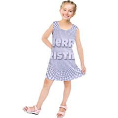 Oints Circle Christmas Merry Kids  Tunic Dress
