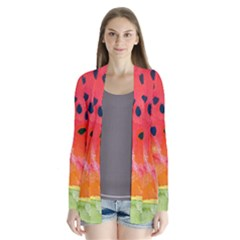 Abstract Watermelon Cardigans