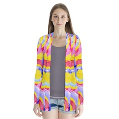 Blue And Pink Dream Cardigans