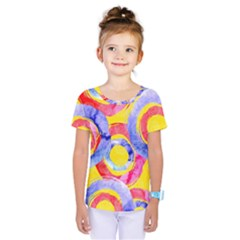 Blue And Pink Dream Kids  One Piece Tee
