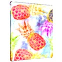 Colorful Pineapples Over A Blue Background Apple iPad Pro 12.9   Hardshell Case View2