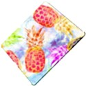 Colorful Pineapples Over A Blue Background Apple iPad Pro 12.9   Hardshell Case View5