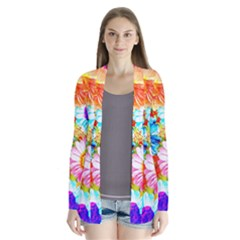 Colorful Daisy Garden Cardigans