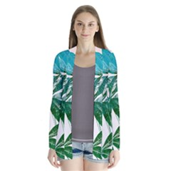 Pachira Leaves  Cardigans