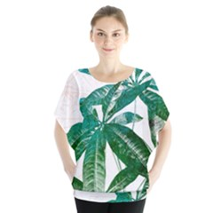 Pachira Leaves  Blouse