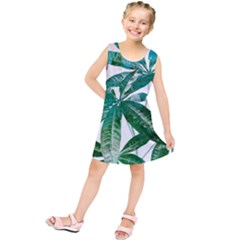 Pachira Leaves  Kids  Tunic Dress
