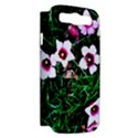 Pink Flowers Over A Green Grass Samsung Galaxy S III Hardshell Case (PC+Silicone) View2