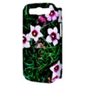 Pink Flowers Over A Green Grass Samsung Galaxy S III Hardshell Case (PC+Silicone) View3