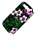 Pink Flowers Over A Green Grass Samsung Galaxy S III Hardshell Case (PC+Silicone) View4