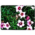 Pink Flowers Over A Green Grass Apple iPad Pro 9.7   Hardshell Case View1