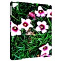 Pink Flowers Over A Green Grass Apple iPad Pro 9.7   Hardshell Case View2