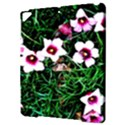 Pink Flowers Over A Green Grass Apple iPad Pro 9.7   Hardshell Case View3