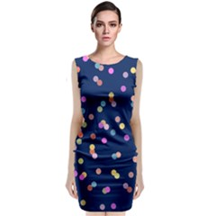 Playful Confetti Classic Sleeveless Midi Dress
