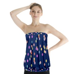 Playful Confetti Strapless Top