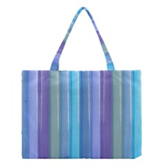 Provence Fields Lavender Pattern Medium Tote Bag