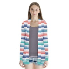 Summer Mood Striped Pattern Cardigans