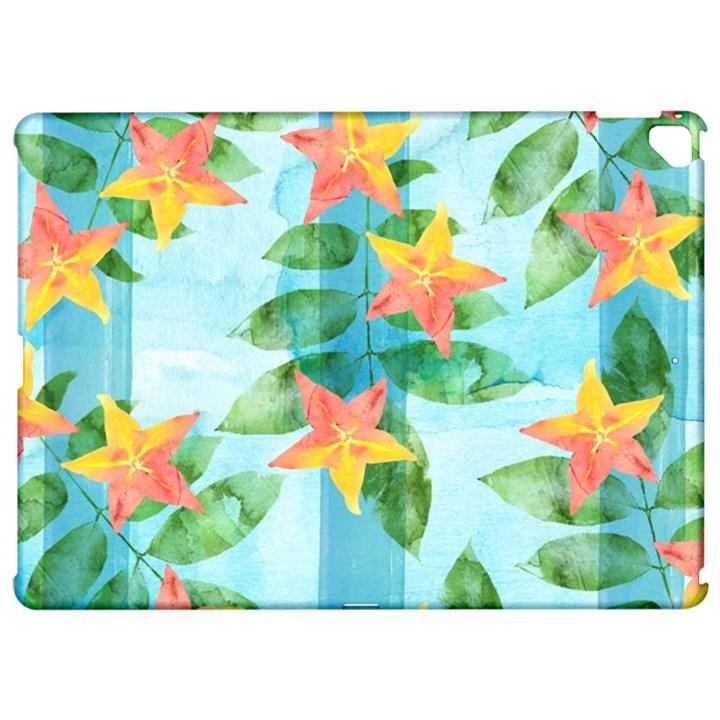 Tropical Starfruit Pattern Apple iPad Pro 12.9   Hardshell Case