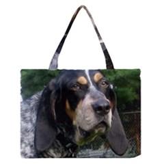 Bluetick Coonhound Medium Zipper Tote Bag