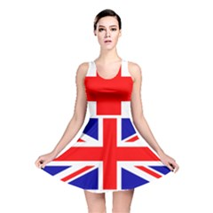 Union Jack Flag Reversible Skater Dress