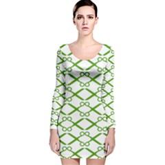 Wallpaper Of Scissors Vector Clipart Long Sleeve Velvet Bodycon Dress