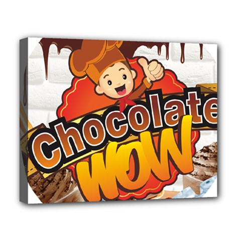 Chocolate Wow Deluxe Canvas 20  X 16