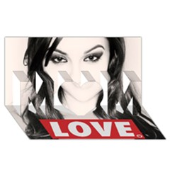 Sasha Grey Love MOM 3D Greeting Card (8x4)