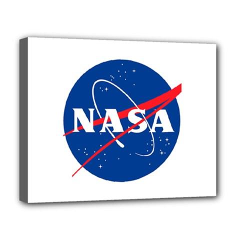 Nasa Logo Deluxe Canvas 20  X 16