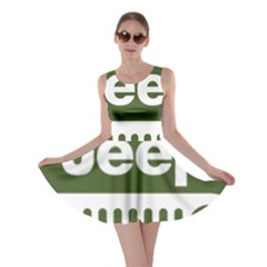 Only In A Jeep Logo Skater Dress