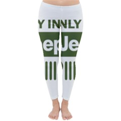 Only In A Jeep Logo Classic Winter Leggings