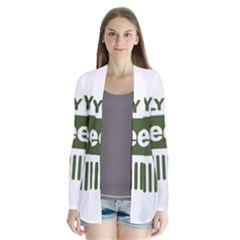 Only In A Jeep Logo Cardigans