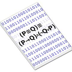 Logic Eqn Large Memo Pads