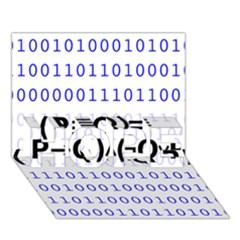 Logic Eqn Hope 3d Greeting Card (7x5)