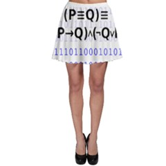 Logic Eqn Skater Skirt