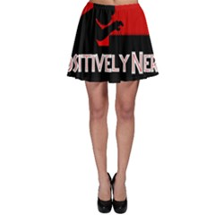 Positively Nerdy Skater Skirt