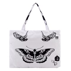 Harry Styles Tattoos Medium Tote Bag