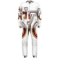 Hey You I Love You Onepiece Jumpsuit (men)