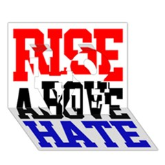 John Cena Rise Above Hate 2 LOVE 3D Greeting Card (7x5)