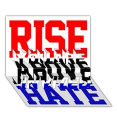 John Cena Rise Above Hate 2 YOU ARE INVITED 3D Greeting Card (7x5)