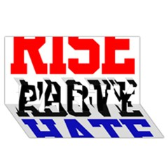 John Cena Rise Above Hate 2 Party 3d Greeting Card (8x4)