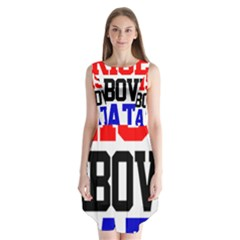John Cena Rise Above Hate 2 Sleeveless Chiffon Dress