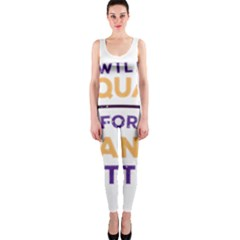 Will Squat For Peanut Butter Onepiece Catsuit