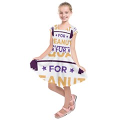 Will Squat For Peanut Butter Kids  Short Sleeve Dress