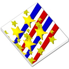 Flag Ransparent Cartoon American Small Memo Pads