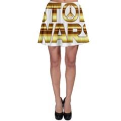 Stop Wars Skater Skirt