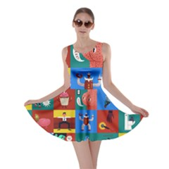The Oxford Dictionary Illustrated Skater Dress