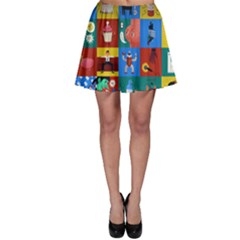 The Oxford Dictionary Illustrated Skater Skirt