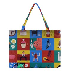 The Oxford Dictionary Illustrated Medium Tote Bag