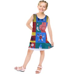 The Oxford Dictionary Illustrated Kids  Tunic Dress