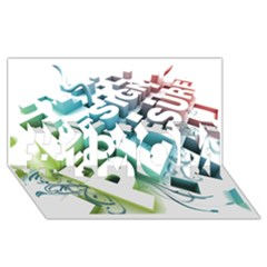Design For Plesure #1 Mom 3d Greeting Cards (8x4)
