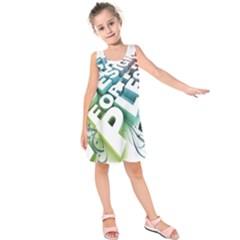 Design For Plesure Kids  Sleeveless Dress